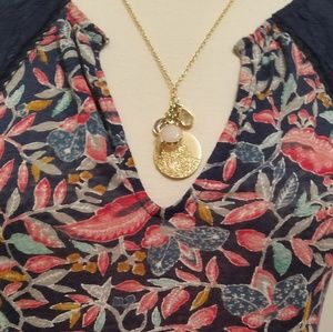 Loft cluster charm necklace